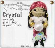 Kamibashi Crystal the Fortune Teller The Original String Doll Gang Keychain Clip
