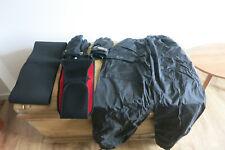 Motorrad Kleidung Touren Textilhose Hose 2x Handschuhe 2x Nierengurt