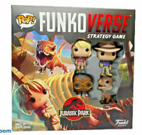 Pop! Funkoverse Strategy Game - Jurassic Park 100 - 4 Player - NISB