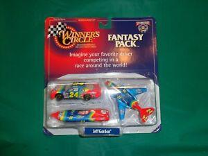 Winners Circle Jeff Gordon Dupont Fantasy Pack Car/Plane/Boat #55575 Die Cast