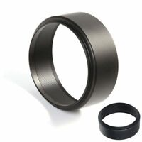 Universal 46mm Thread Screw-in Metal Lens Hood For Canon Nikon Sony DSLR Camera