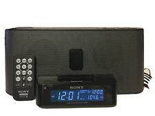 Sony Icf-C1iPmk2 Clock Radio Docking iPhone iPod Speaker System See Desc