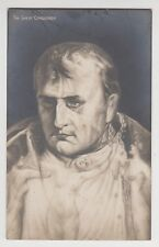 "POSTCARD - Napoleon ""The Great Conqueror"" metamorphic head, risque erotic nudes"