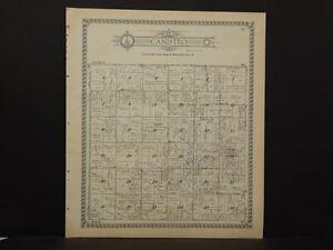 Minnesota  Dodge County Map Canisteo Township  1937   J12#04