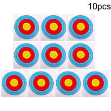 10pc 40cm x 40cm blue&red target paper for outdoor arrow bow shooting hunting  Z