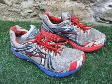 Brooks Adrenaline GTS GB 5k 10k Half Marathon Running Shoes, Elastic Laces, UK 9