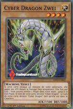 ♦Yu-Gi-Oh!♦ Cyber Dragon Zwei (Chimeratech - Infini) : LEDD-FRB02 -VF/Commune-