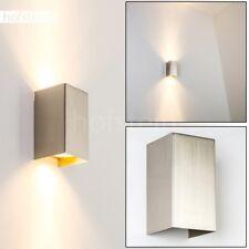 Wand Leuchten Stahl Wohn Schlaf Zimmer Beleuchtung Flur Büro Lampe Up & Down