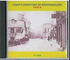 GENEALOGY DIRECTORY OF WESTMORELAND 1828-9 CD ROM