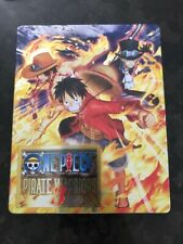 One Piece Pirate Warriors 3 Steelbook Case Exc Condition No Game PS3 PS4 Size