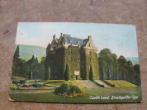 Early Postcard - Castle Leod, Strathpeffer Spa, Ross-shire Highlands