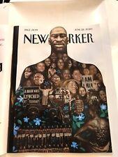THE NEW YORKER Magazine June 22, 2020 GEORGE FLOYD Kadir Nelson Say Their Names