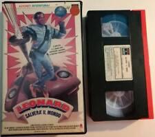 VHS - LEONARD SALVERA' IL MONDO di Paul Weiland [RCA BOX MORB. BLU]