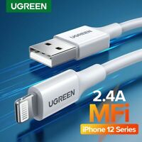 Ugreen MFi USB Cable 2.4A Fast Charging Charger Data for iPhone Charge Cord