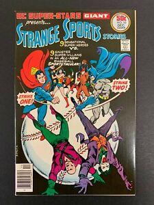 DC SUPER-STARS #10 *HIGH GRADE!* (DC, 1976)  STRANGE SPORTS!!  LOTS OF PICS!!
