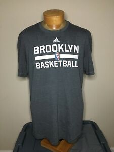 Adidas Aeroknit Brooklyn Basketball Nets Team Issue T Shirt Climacool Men's XLT