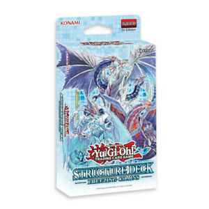 Yu-Gi-Oh! - STRUCTURE DECK FREEZING CHAINS - New and Sealed in Box