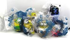 Despicable ME 2015 MINION Toys #7 - 12 New Sealed in Bags + Gru's Hydrocycle