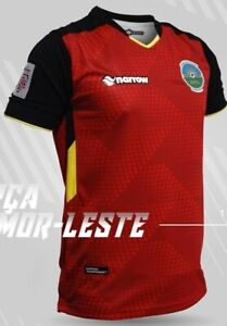 100% Authentic Timor Leste National Football Soccer Team Jersey Shirt Home