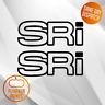 X2 SRI Sticker DECAL- WINDOW BUMPER VECTRA ASTRA CORSA ZAFIRA VAUXHALL  VINYL
