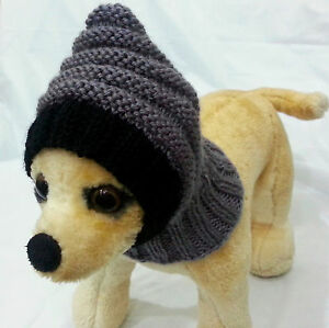 Pet Clothes Apparel Outfit Handmade Knit  Snow-Hat for Small Dog  XXS XS S