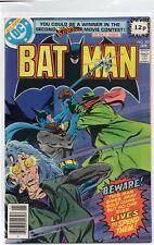 BATMAN #307 1st Lucius Fox DC Comics 1979 VF+/NM-