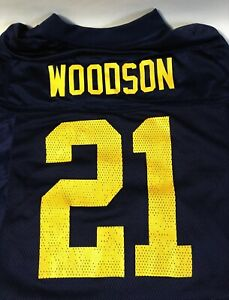 Vintage Reebok Green Bay Packers Charles Woodson NFL Jersey Size Adult Small