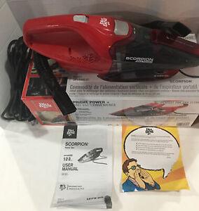 Dirt Devil Scorpion Handheld Vacuum Cleaner, Corded, Small, No Dusting Brush