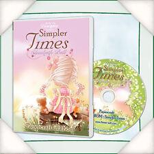Katy Sue Designs (Flowersoft) Simpler Times Elisabeth Bell CD-ROM