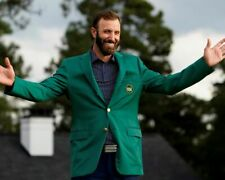 Dustin Johnson 2020 Masters UNSIGNED 8X10 photo A