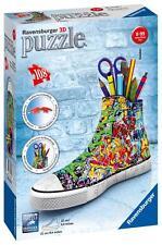 Ravensburger 12535 Sneaker 3D Puzzle 108pc Trainer Jigsaw Children Kids - Multi