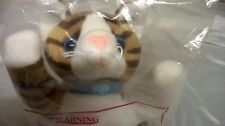 "Brekkies ""Bob"" Cat - Original - Sealed with Postcard - Bean Toy"