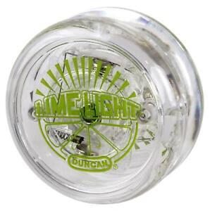 Duncan Lime Light Yo-Yo with LED Lights - Transparent Green