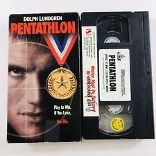 Pentathlon (VHS, 1994) Dolph Lundgren, David Soul, Renee Coleman, Rare