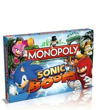SONIC THE HEDGEHOG SONIC BOOM EDITION MONOPOLY BOARD GAME *BRAND NEW*
