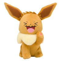 Pokemon Center Original Plush Doll Eevee Everybody is Wobbuffet Face JAPAN