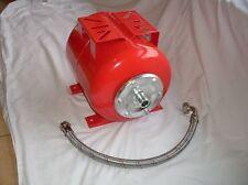 Food Grade 8 Litre Vertical Steel Pressure Tank for Water PUMPS 25mm BSP