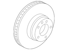 Genuine Land Rover Rotor SDB000614