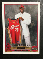 2003-04 Topps Basketball LeBron James Rookie Card #221 RC