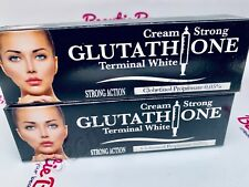 ABEBI Glutathione INJECTION TUBE CRÈME SUPRÊME ÉCLAIRCISSANT ACTION RAPIDE -one