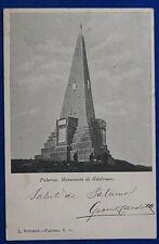 PALERMO Monumento di Gibilrossa animata  viaggiata 1900 f/p #21330
