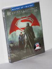 BATMAN V SUPERMAN - Blu-Ray Lenticular-slip STEELBOOK LE500 Novamedia NEU&OVP