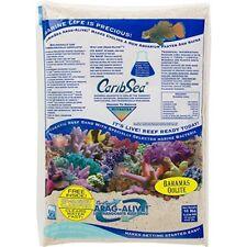 Caribsea Arag-Alive Bahamas Oolite Aquarium Sand 10-Pound