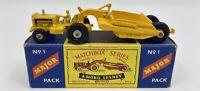 Matchbox M-1 Major Pack No. 1 Caterpillar Earth Mover  in Original Box