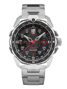 New Luminox ICE-SAR ARCTIC 1200 Stainless Steel Black Dial Men's Watch XL.1202