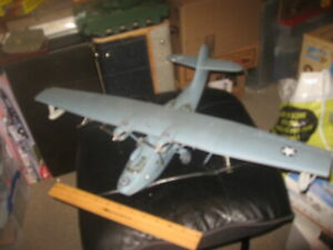Pro Built PBY Catalina in 1/48 scale - Awesome! over 2ft wingspan