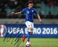 Foto Autografo Calcio Stephan El Shaarawy Asta di Beneficenza Sport Coa Signed