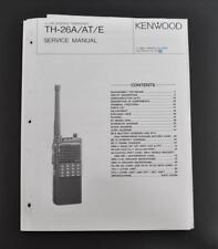 ORIGINAL KENWOOD TH-26A/AT/E SERVICE MANUAL