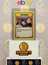 Trainer Here Comes Team Rocket! 71/82 1st Edition NM Rare Non-Holo Pokemon Card