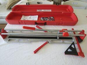 Rubi Star 60-N Plus Tile cutter 12979 + Red Carry Case Box & Cutting Wheel